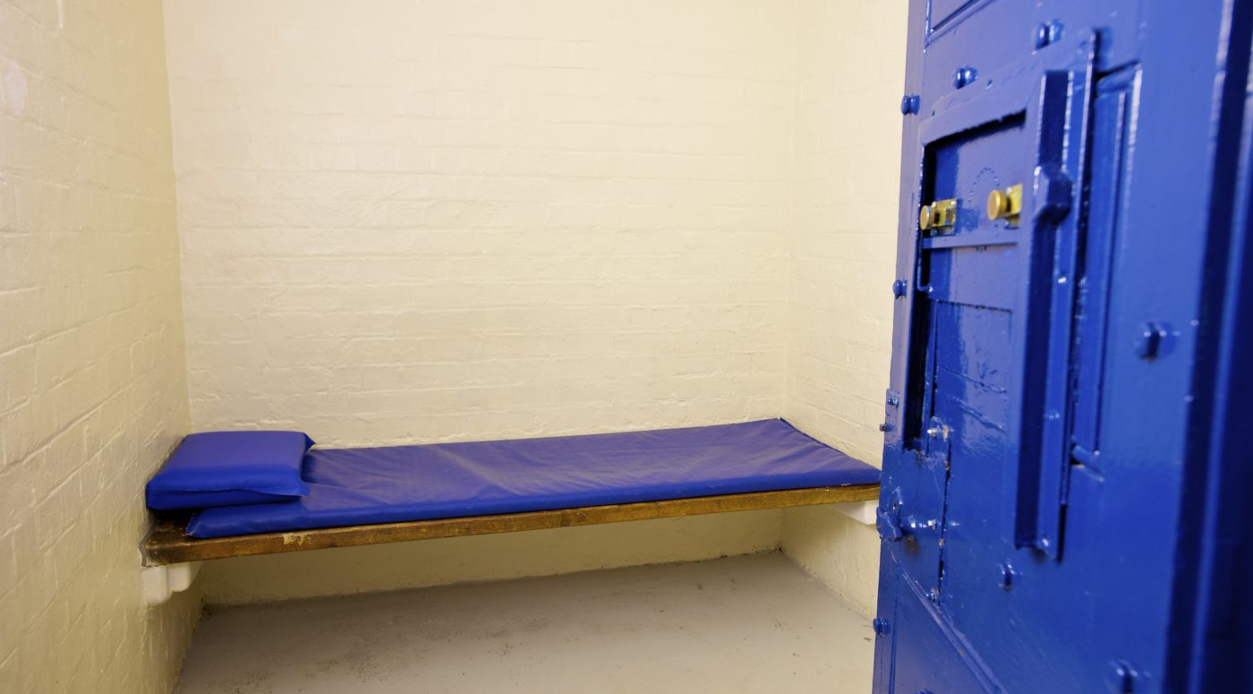 prison cell bed