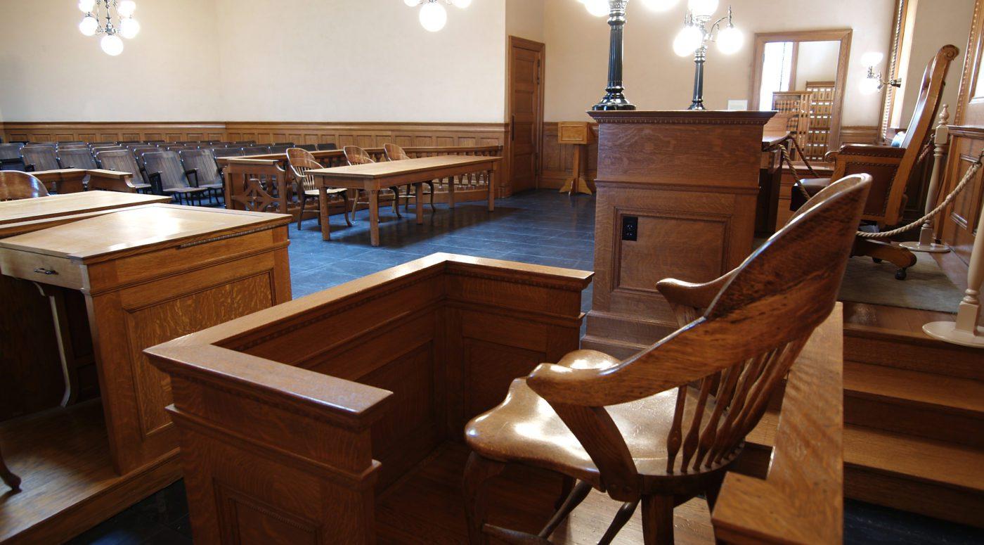 witness box