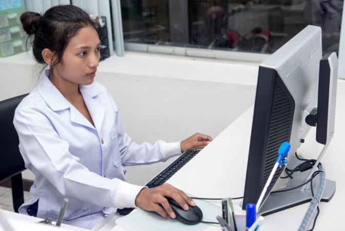 hospital computer