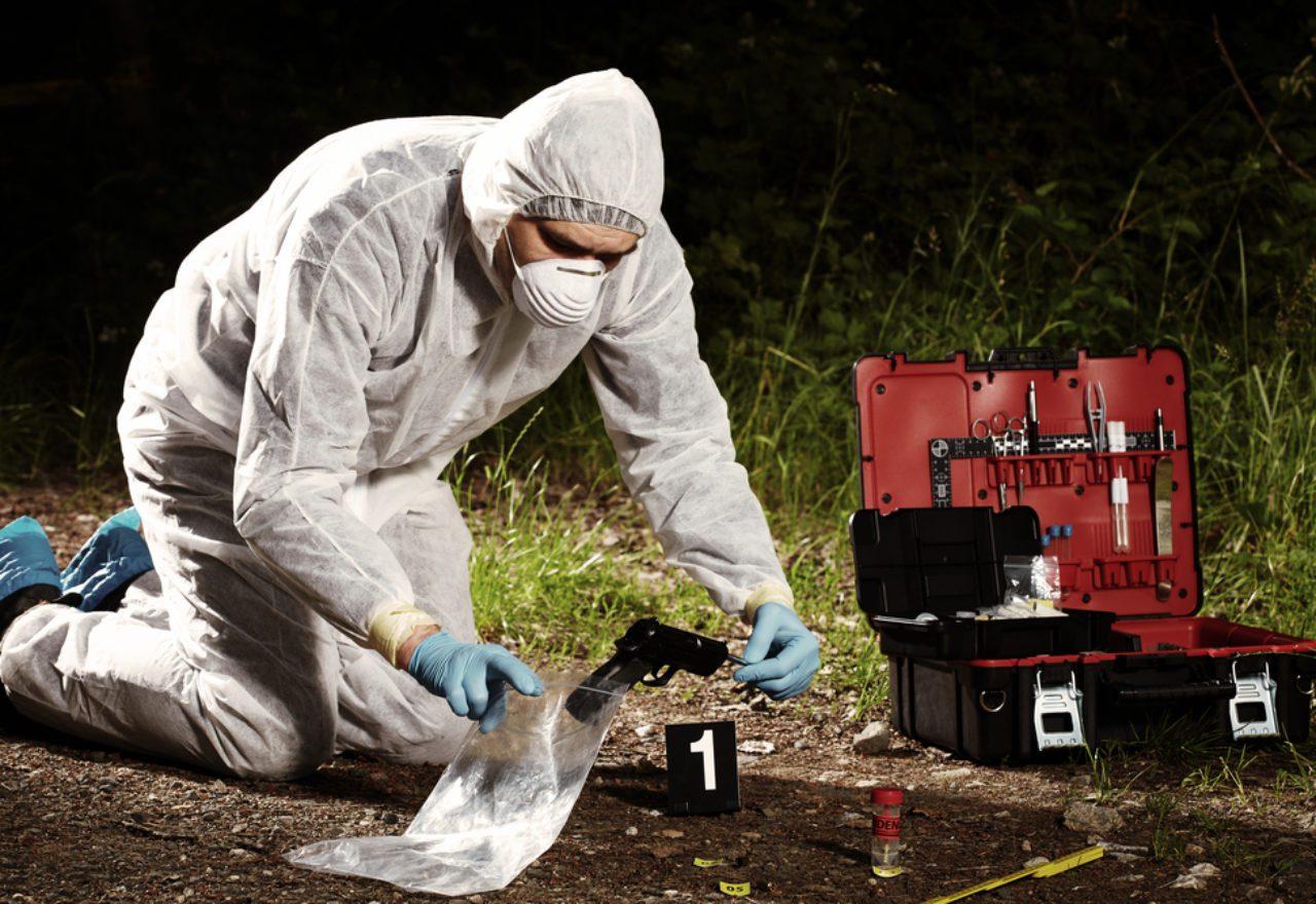 murder scene investigation