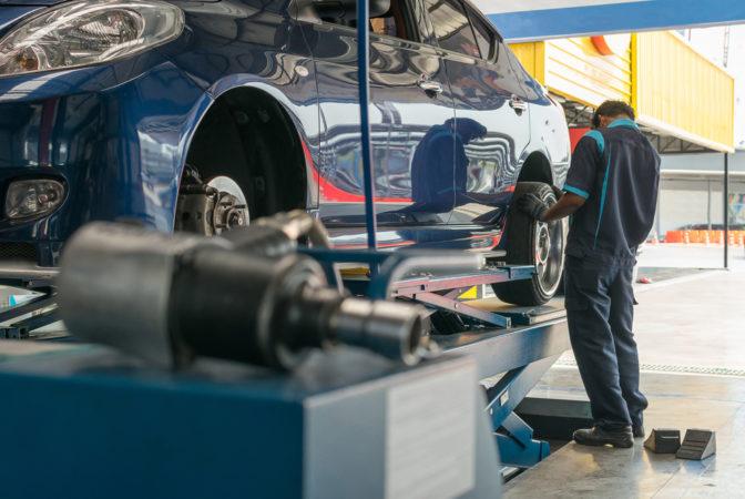 car repair garage mechanic